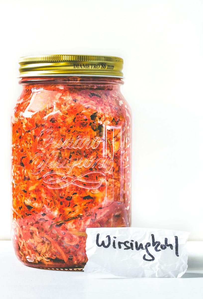 Wirsingkohl-Kimchi