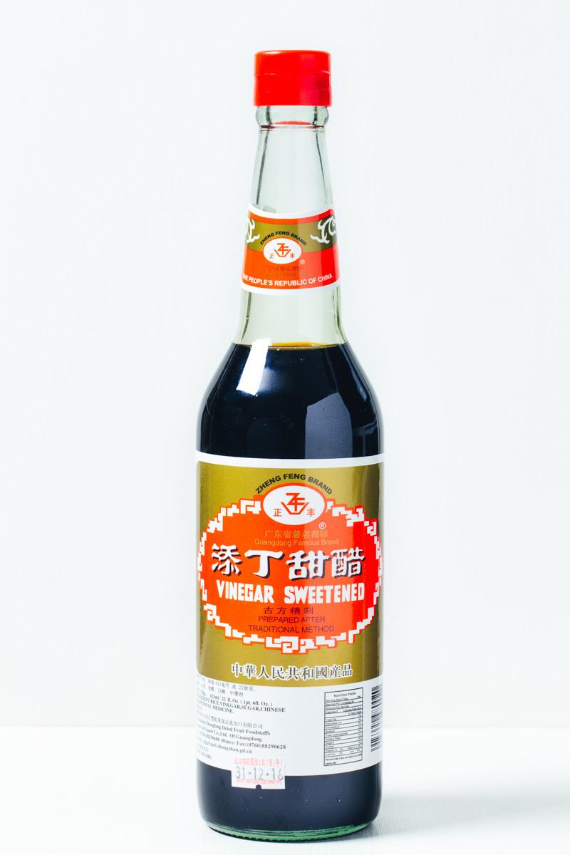 Flasche chinesischer süßer Essig