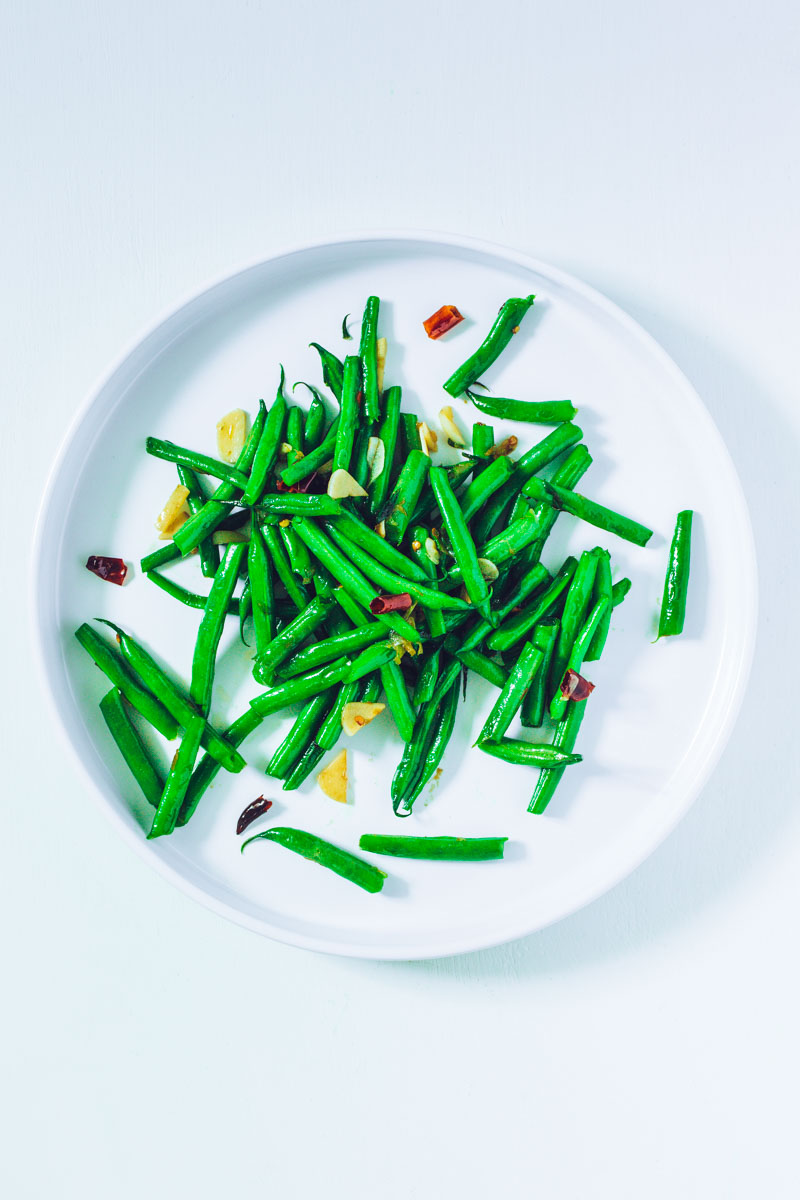 Chili-Knoblauch-Bohnen