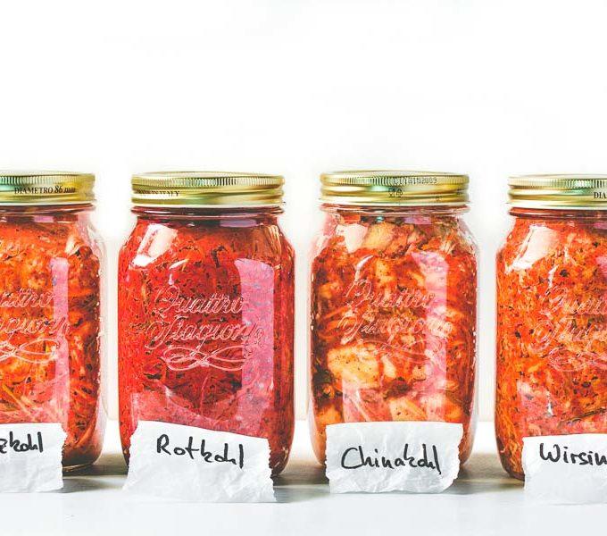 Kimchi Gläser