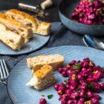 Nicht nur optisch ein Genuss! Indischer-Kichererbsen-rote-Bete-Salat