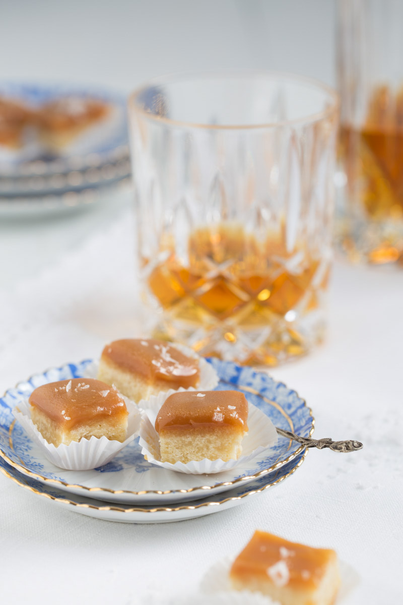 Super leckere Whisky Shortbread Pralinen