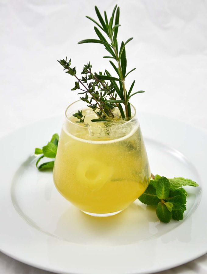 Gastbeitrag von irre kochen: Gin mit Kräutern und Birne