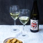 Parmesan-Rosmarin-Sables und dazu Riesling