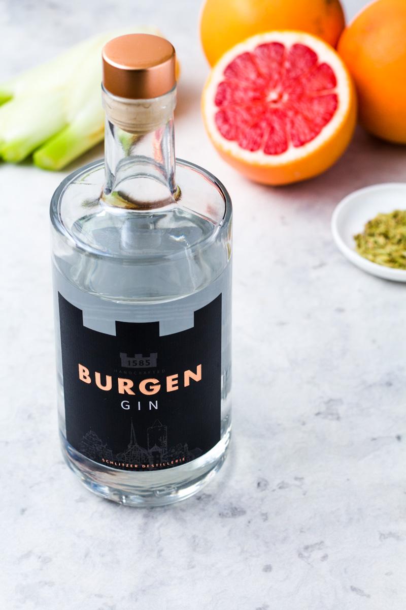 Flasche Burgen Gin