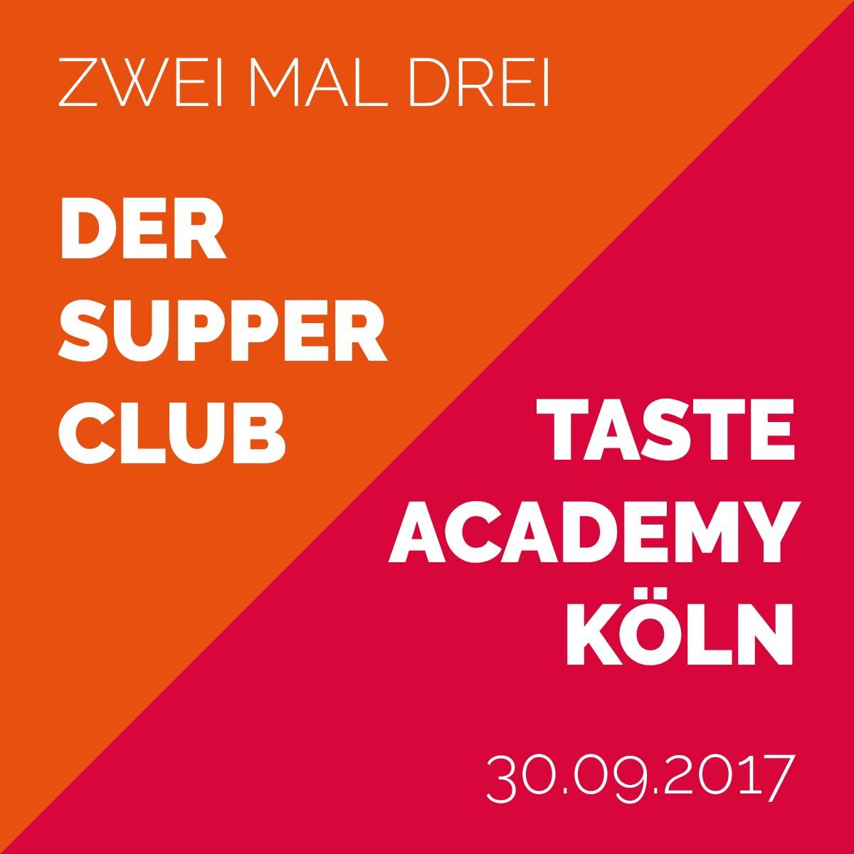 Zwei mal drei - Der Supper Club