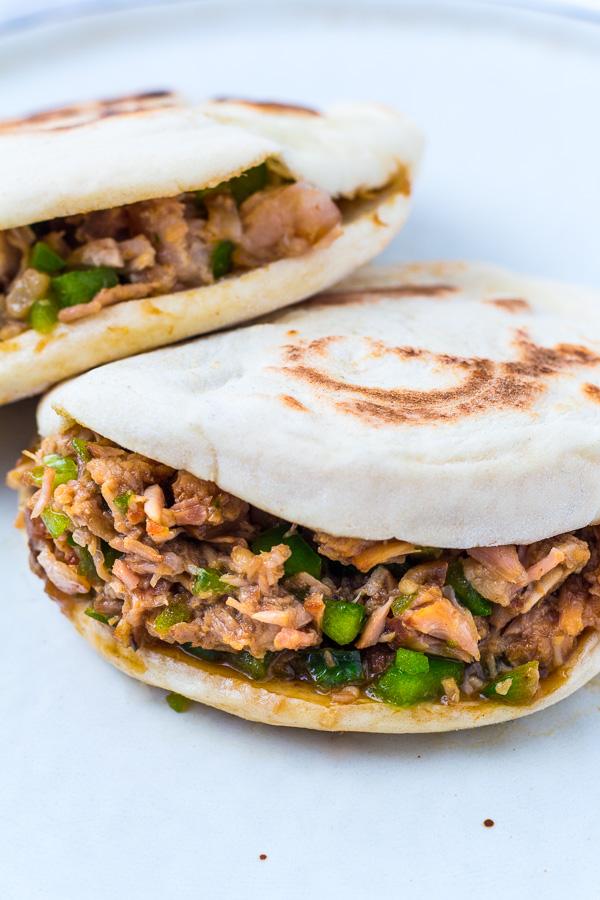 Chinesischer Burger - Rou Jia Mo