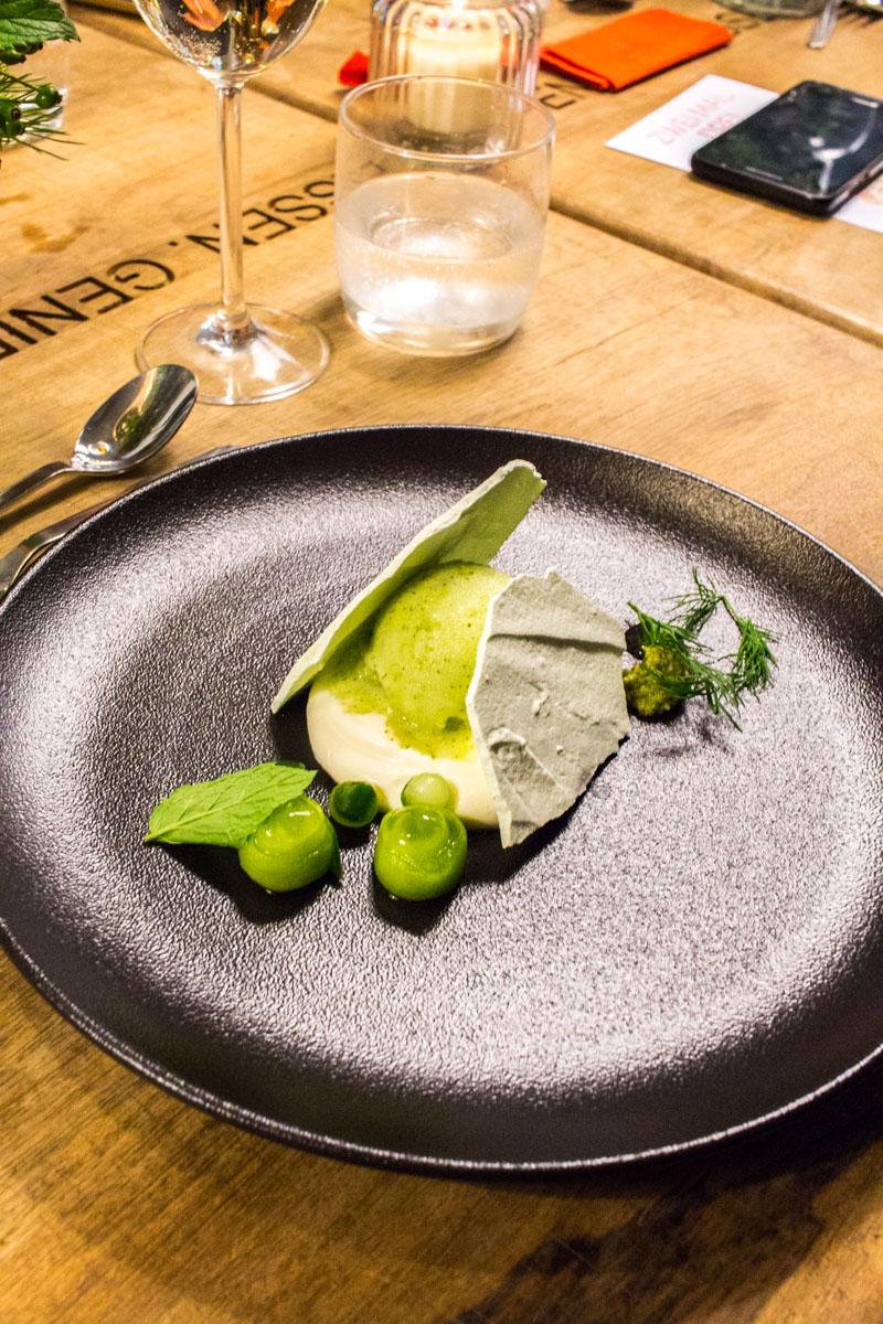 Pre-Dessert - Limette | Ingwer | Gurke