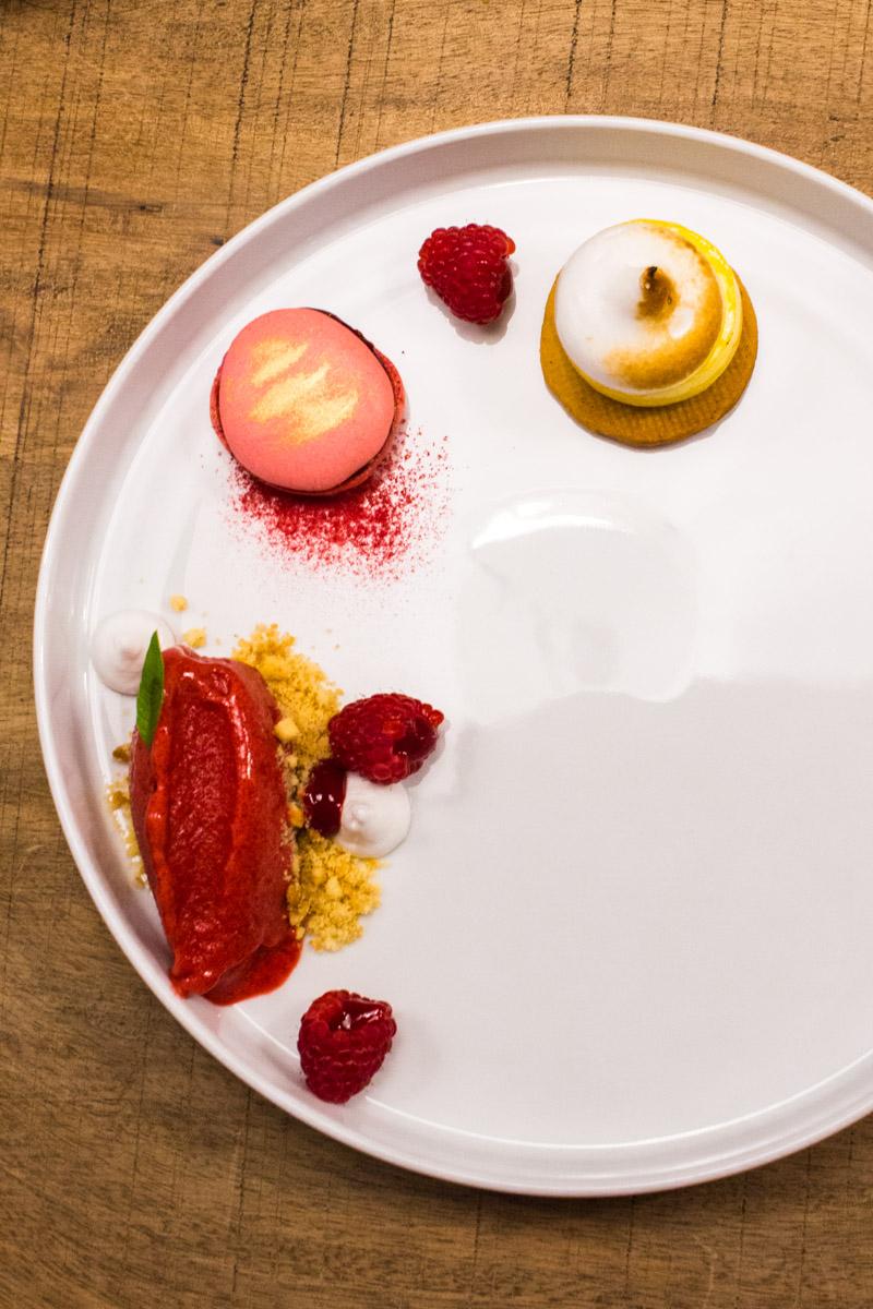 Süßes Finale - Zitrone | Himbeere | Meringue