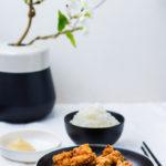 Karaage - Japanische frittierte Hähnchenstücke