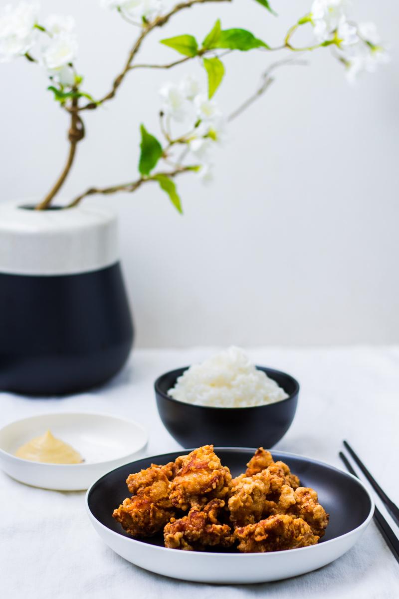 Karaage – Japanische frittierte Hähnchenstücke