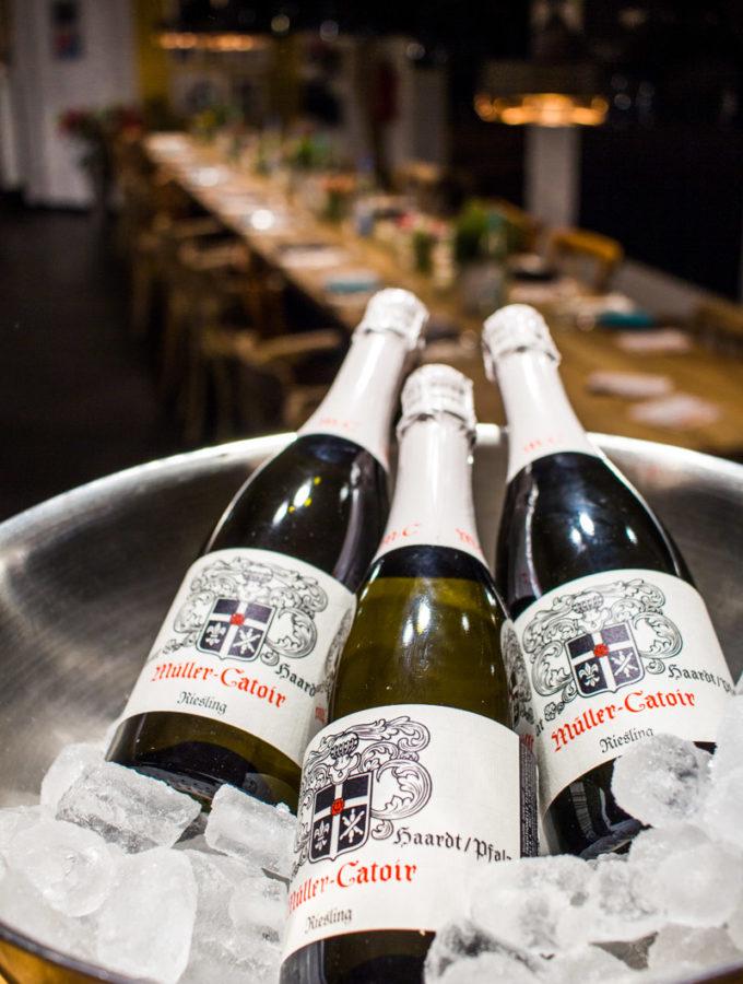 Riesling Brut Sekt vom Pfälzer VDP Spitzen Weingut Müller-Catoir