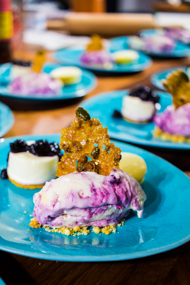Süßes Finale - Zitrone | Blaubeere | Joghurt