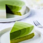 Matcha Mousse Kuchen