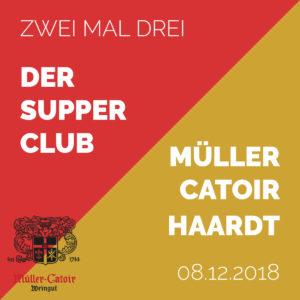 Zwei Mal Drei - Der Supper Club Dezember