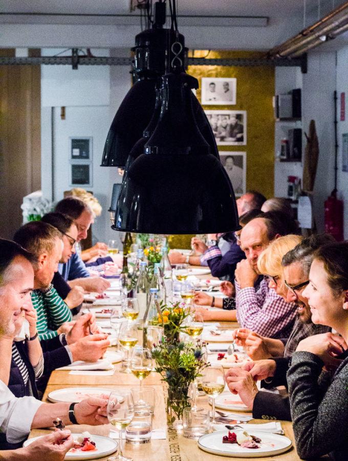 Den Gästen schmeckt es