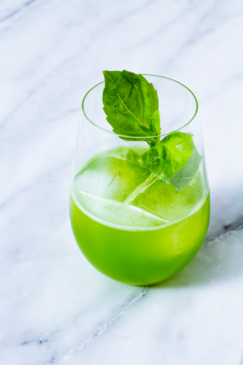 Glas Gin Basil Smash