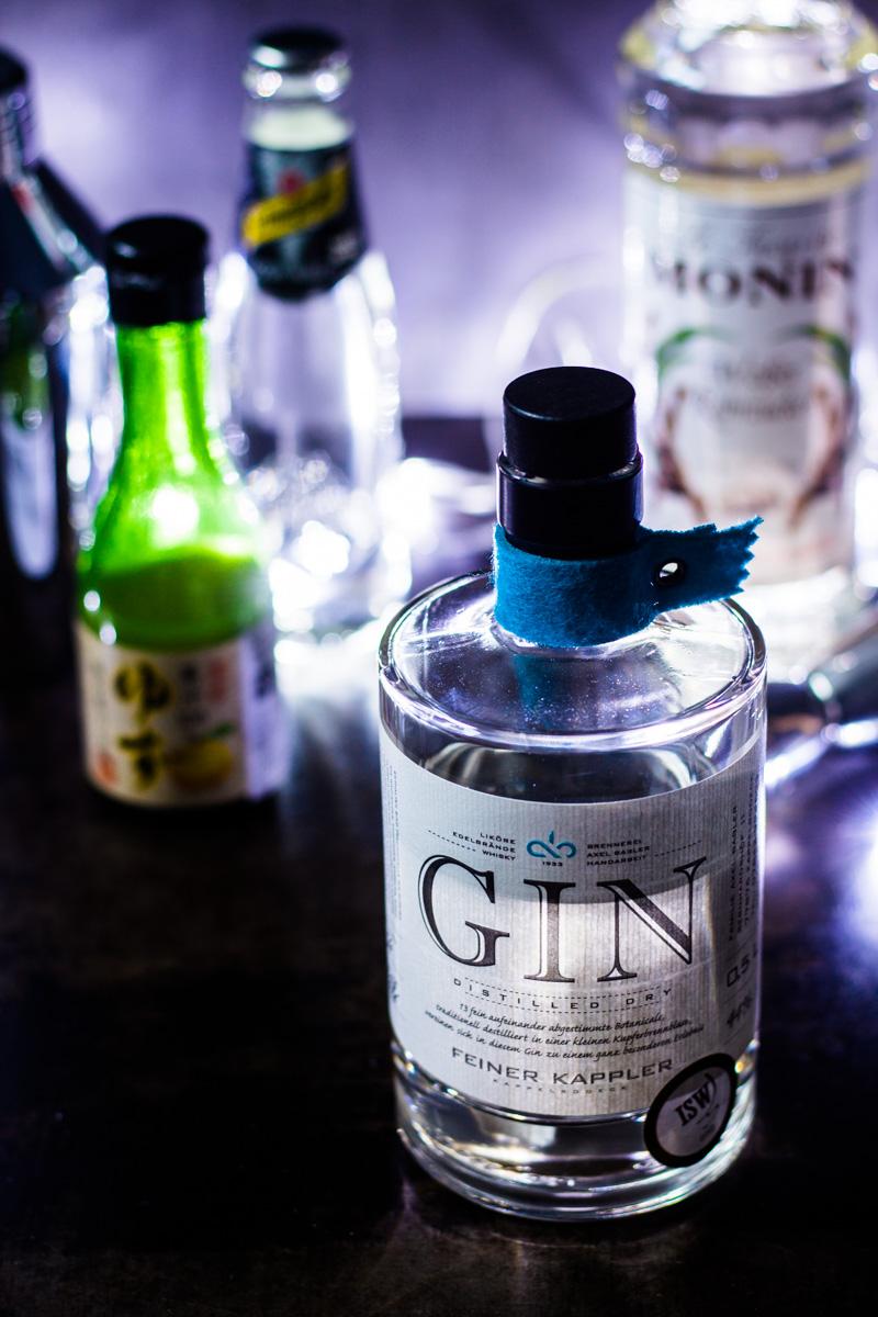 Feiner Kappler Gin für den Gin Yuzu-Sour