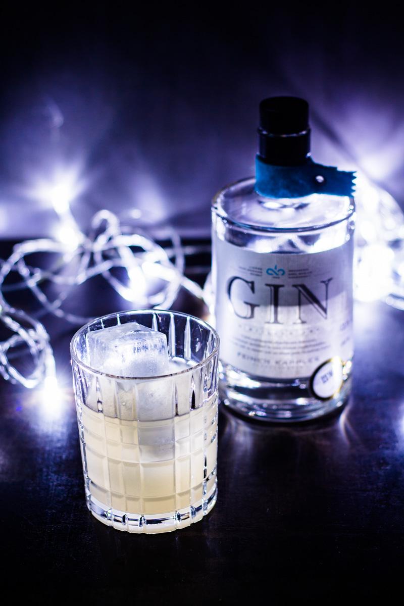 Gin Yuzu-Sour mit Feiner Kappler Gin