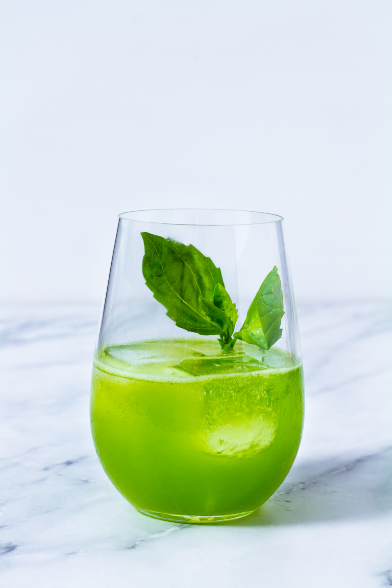 Happy New Year: Gin Basil Smash