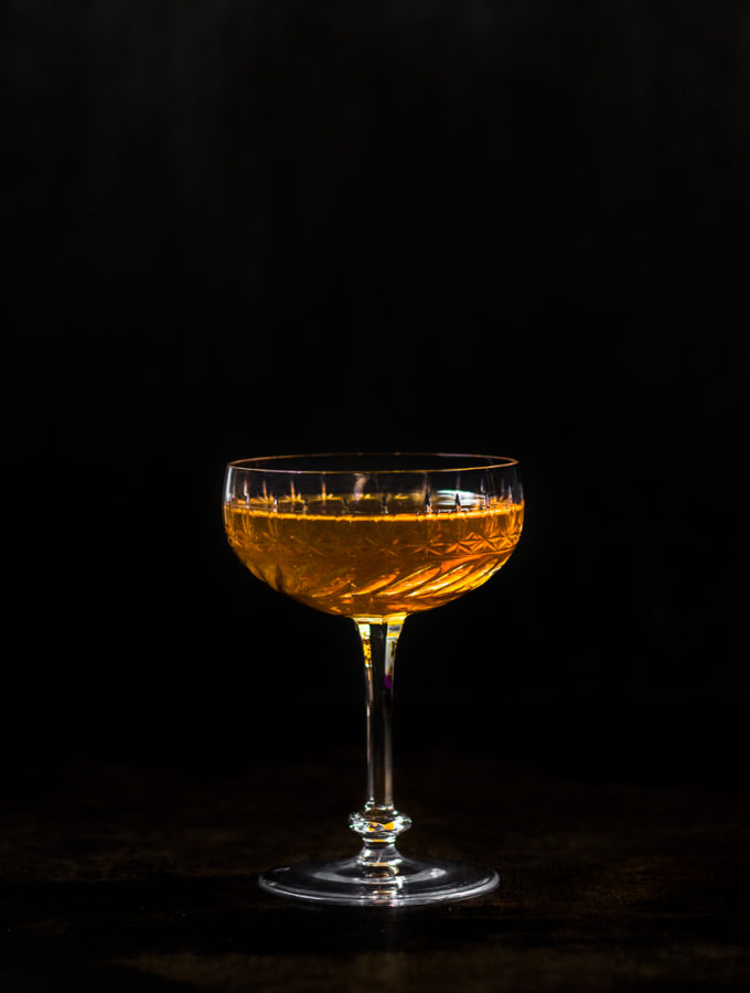 Coupe Glas Bijou Cocktail