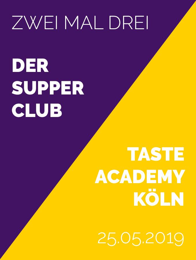 Supper Club Mai 2019