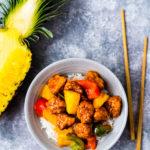Schweinefleisch süß-sauer - Gu Lao Rou - 咕老肉