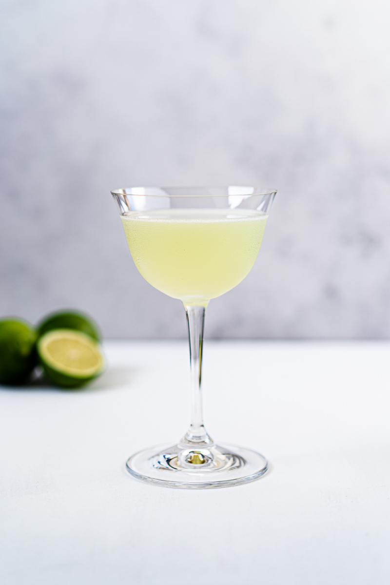 Last Word Cocktail mit Limetten