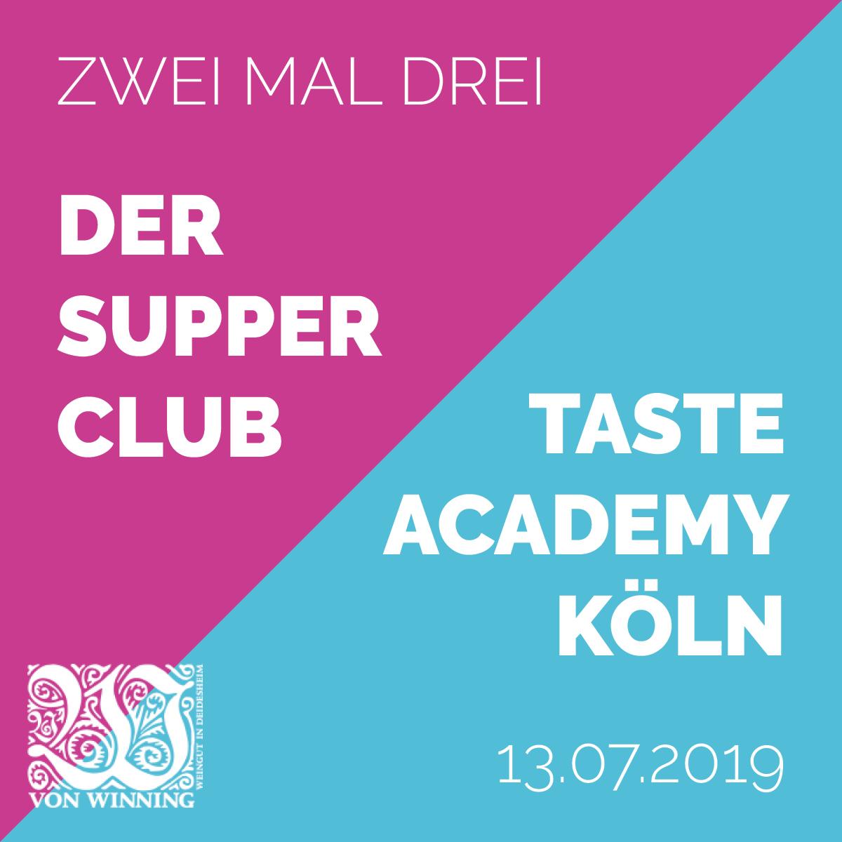 Supper Club Juli 2019