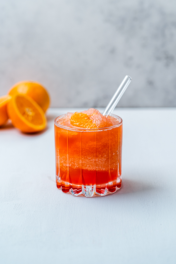 Frozen Orange Negroni