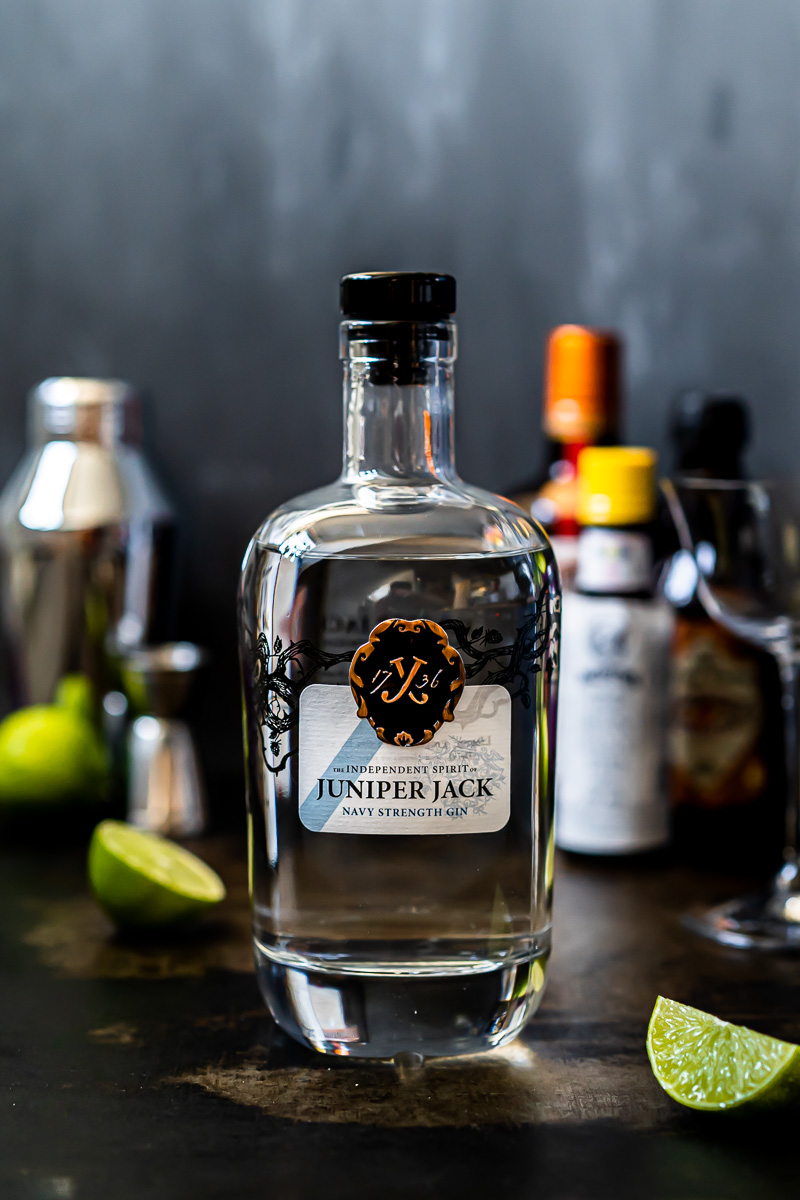 Flasche Juniper Jack Navy Strength Gin