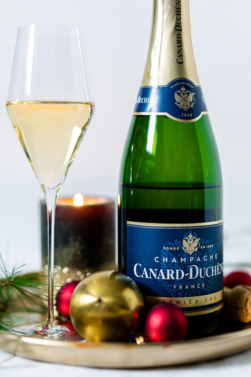 Glas Canard-Duchêne Champagner Premiere Cru