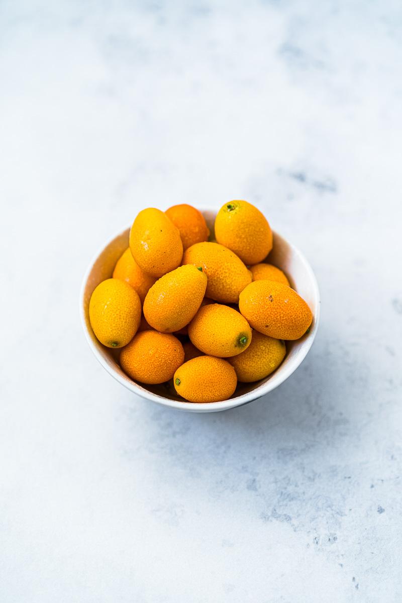 Schälchen mit Kumquats