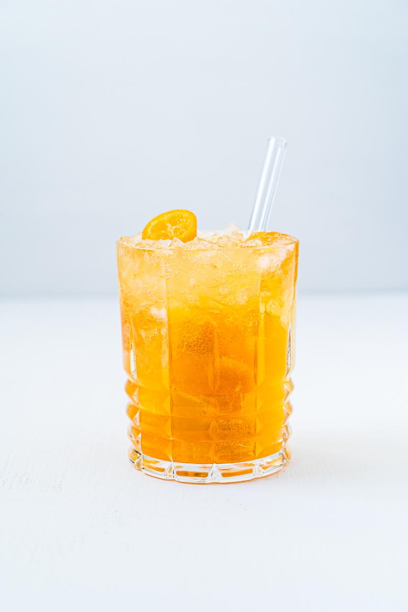 Glas Gin-Kumquat Crush