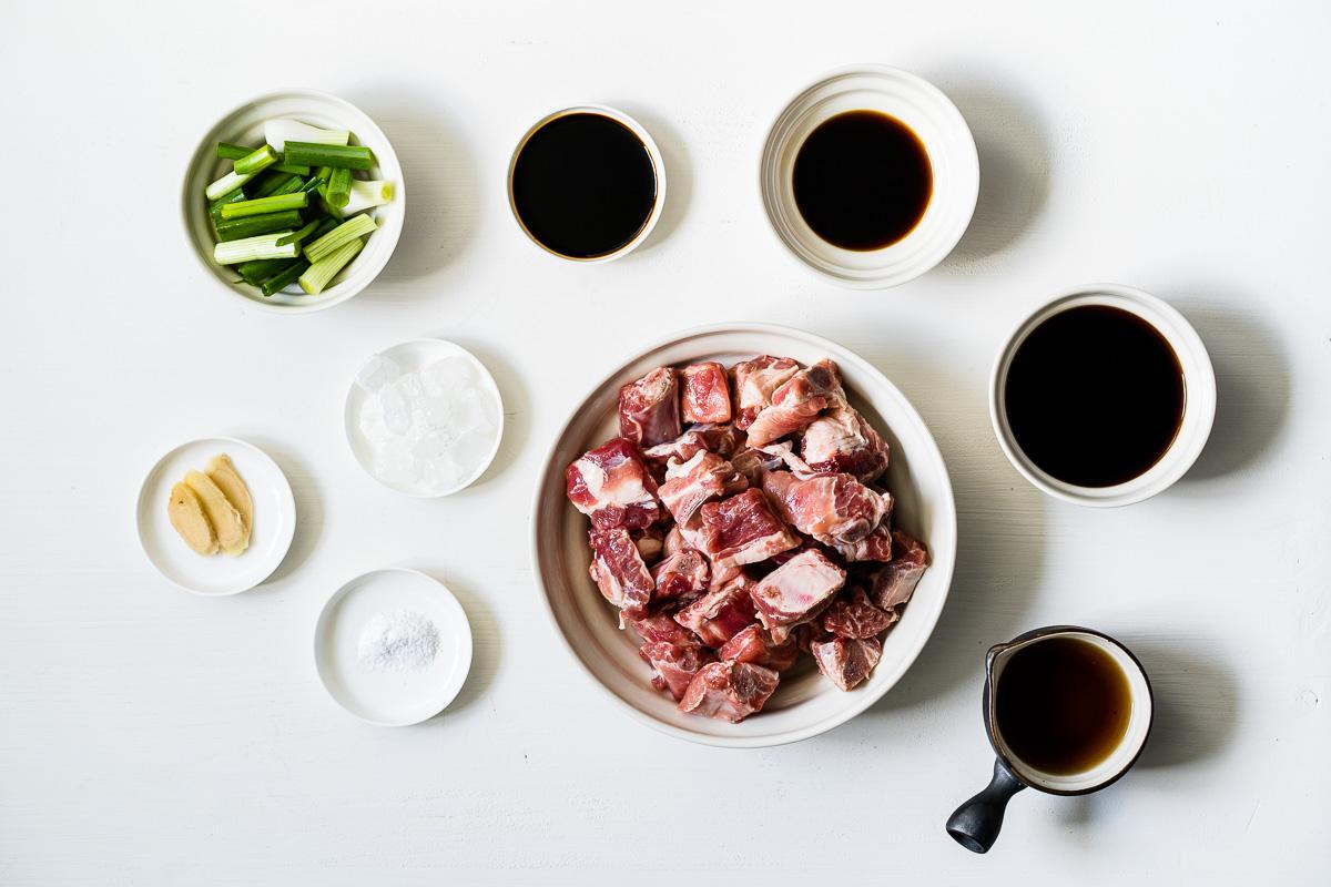 Zutaten für Chinesische Rippchen süß-sauer